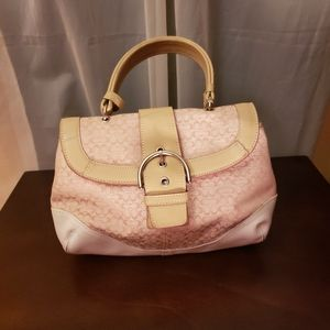 Coach Vintage Blush HandBag